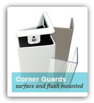 Flush and Surface Mounted Corner Guards