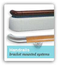 Bracket Mounted Handrail Systems