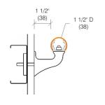 "2035 Handrail, 1-1/2"" Diameter"
