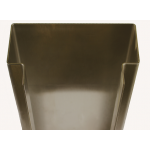 2331B Series 16ga Stainless Steel Flush Mount Endwall