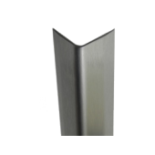 "2330.2- 18 gauge -1"" Wings - Stainless Steel Corner Guard"