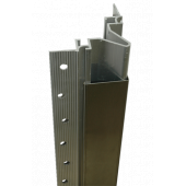 2330C Stainless Steel Flush Mounted Corner Guard