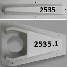 2535 & 2535.1 Door Knob Protectors