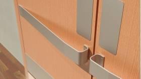2181 Stainless Steel Crash Rail ... & 2181 DP Stainless Steel Door Protection