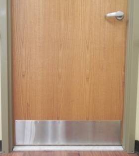 Stainless Steel Kick Plate Wallguard Com