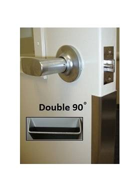 2455 Stainless Steel Door Edge Guards ...  sc 1 st  Wallguard.com : guard door - pezcame.com