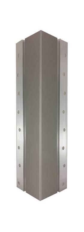 Steel Corner Protection : C stainless steel flush mounted corner guard